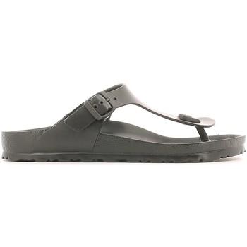 Topánky Muži Žabky Birkenstock 128201 čierna