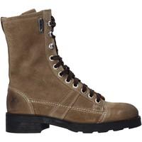 Topánky Ženy Polokozačky OXS OXW190201 Béžová