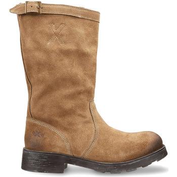 Topánky Ženy Polokozačky OXS OXW100503 Béžová