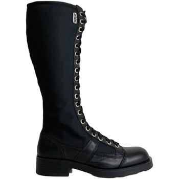 Topánky Ženy Polokozačky OXS OXS101168 čierna