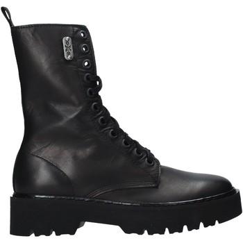 Topánky Ženy Polokozačky OXS OXW102000 čierna
