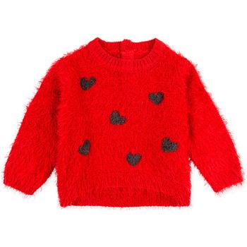 Oblečenie Deti Mikiny Losan 028-5000AL Červená