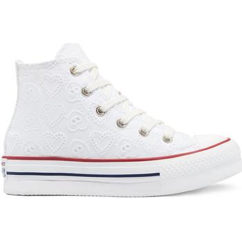 Topánky Deti Členkové tenisky Converse 671104C Biely