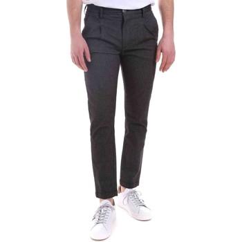 Oblečenie Muži Nohavice Gaudi 021GU25022 čierna