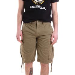 Oblečenie Muži Šortky a bermudy Caterpillar 35CC2820928 Zelená