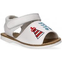 Topánky Dievčatá Sandále Bubble 54800 Biela