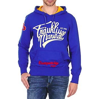 Oblečenie Muži Mikiny Franklin & Marshall SUNBURY Modrá