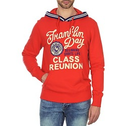 Oblečenie Muži Mikiny Franklin & Marshall GOSFORD Oranžová