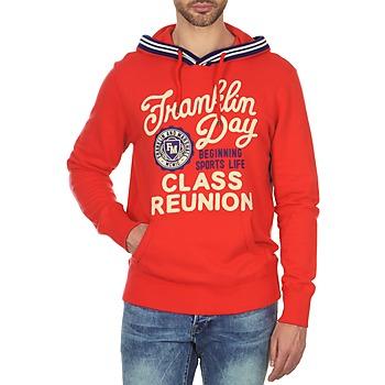 Oblečenie Muži Mikiny Franklin & Marshall GOSFORD Červená