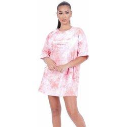 Oblečenie Ženy Krátke šaty Sixth June Robe femme  Tie and dye rose