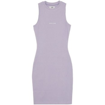 Oblečenie Ženy Krátke šaty Sixth June Robe femme  Rib Essential bleu lila