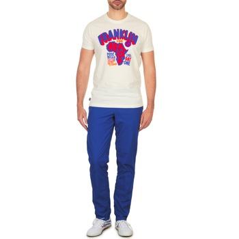 Oblečenie Muži Nohavice Chinos a Carrot Franklin & Marshall GLADSTONE Modrá