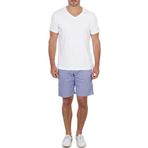 Oblečenie Muži Šortky a bermudy Franklin & Marshall GAWLER Modrá / Béžová