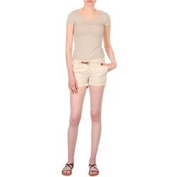 Oblečenie Ženy Šortky a bermudy Franklin & Marshall MACQUARIE Béžová