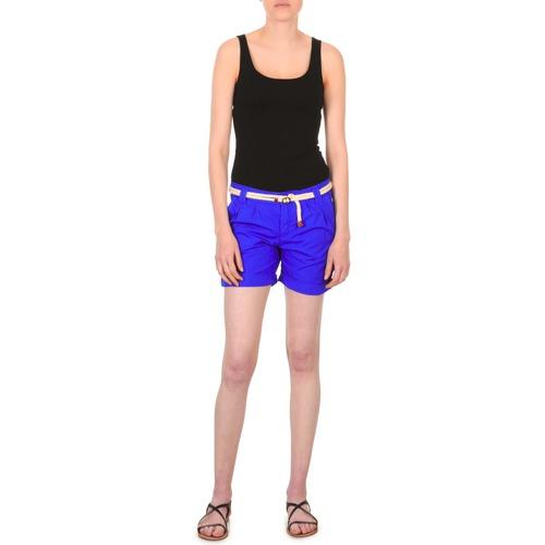 Oblečenie Ženy Šortky a bermudy Franklin & Marshall CALOUNDRA Modrá
