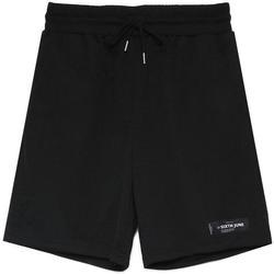 Oblečenie Muži Šortky a bermudy Sixth June Short  Mesh Logo noir