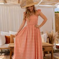 Oblečenie Ženy Dlhé šaty Céleste AURORE Ružová
