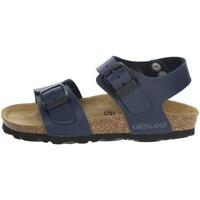 Topánky Deti Sandále Grunland SB1206-40 Blue