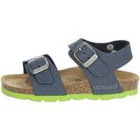 Topánky Deti Sandále Grunland SB0901-40 Blue