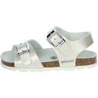 Topánky Dievčatá Sandále Grunland SB0392-40 Pearl
