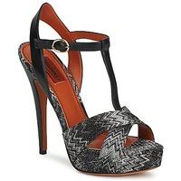 Topánky Ženy Sandále Missoni VM034 Čierna / Biela