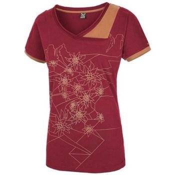 Oblečenie Ženy Tričká s krátkym rukávom Salewa 251661651 Višňová
