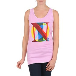Oblečenie Ženy Tielka a tričká bez rukávov Nixon PACIFIC TANK Ružová / Viacfarebná