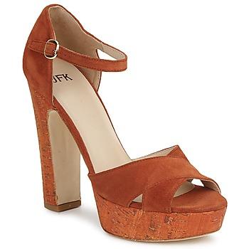 Topánky Ženy Sandále JFK  Oranžová