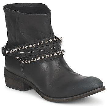 Topánky Ženy Polokozačky Strategia GRONI Čierna