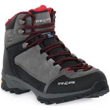 Topánky Muži Turistická obuv Trezeta ARGO WP GREY RED Grigio
