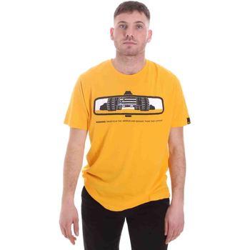 Oblečenie Muži Tričká s krátkym rukávom Caterpillar 35CC2510234 žltá