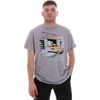 Oblečenie Muži Tričká s krátkym rukávom Caterpillar 35CC2510217 Šedá