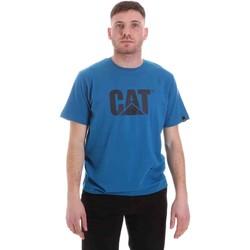 Oblečenie Muži Tričká s krátkym rukávom Caterpillar 35CC2510150 Modrá