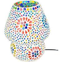 Domov Stolové lampy Signes Grimalt Mushroom Lamp Mosaic Multicolor