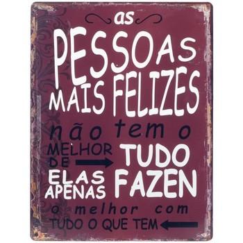 Domov Obrazy, plátna Signes Grimalt Stena Doska Pessoas Felizes Rojo