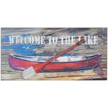 Domov Obrazy, plátna Signes Grimalt Stena Doska Barca Remo Multicolor