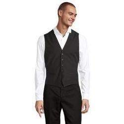Oblečenie Muži Spoločenské vesty k oblekom Sols MAX MEN Negro profundo