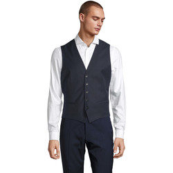 Oblečenie Muži Spoločenské vesty k oblekom Sols MAX MEN Negro noche