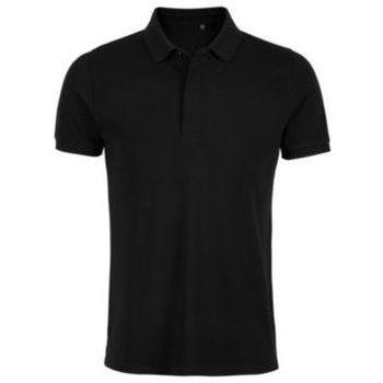 Oblečenie Muži Polokošele s krátkym rukávom Sols OWEN MEN Negro profundo
