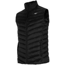 Oblečenie Muži Vyteplené bundy 4F KUMP001 Čierna