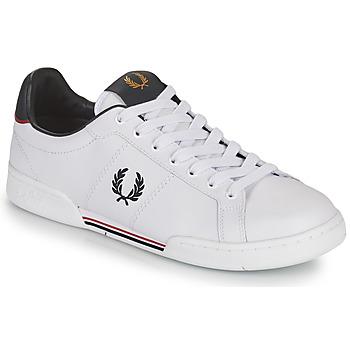 Topánky Muži Nízke tenisky Fred Perry B722 Biela