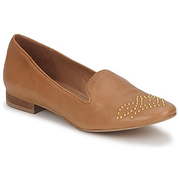 Topánky Ženy Mokasíny Betty London CHEFACHE Ťavia hnedá