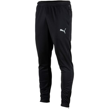 Oblečenie Muži Tepláky a vrchné oblečenie Puma Pantalon  Teamrise poly training noir