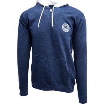 Oblečenie Muži Mikiny DC Shoes Rebel Half-Zip Hoodie Modrá