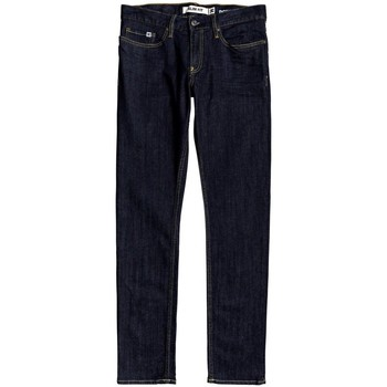 Oblečenie Muži Rifle Slim  DC Shoes Worker Indigo Rinse Slim Fit Jeans Modrá