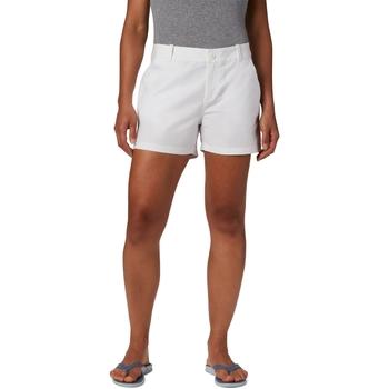 Oblečenie Ženy Šortky a bermudy Columbia Bonehead Stretch Biely