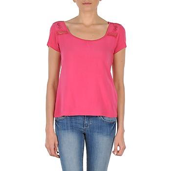 Oblečenie Ženy Tričká s krátkym rukávom DDP NOWI Ružová
