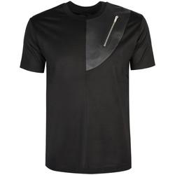 Oblečenie Muži Tričká s krátkym rukávom Les Hommes  Čierna