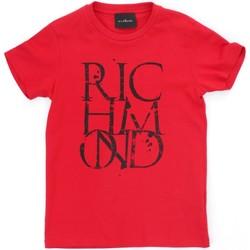 Oblečenie Chlapci Tričká s krátkym rukávom Richmond Kids RBP21038TS Red