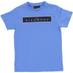 Oblečenie Chlapci Tričká s krátkym rukávom Richmond Kids RBP21030TS Light blue